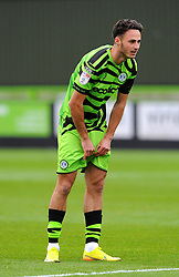 Aaron Collins of Forest Green Rovers- Mandatory by-line: Nizaam Jones/JMP - 17/10/2020 - FOOTBALL - innocent New Lawn Stadium - Nailsworth, England - Forest Green Rovers v Stevenage - Sky Bet League Two