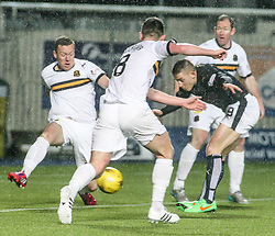 Falkirk's John Baird. <br /> Falkirk 1 v 0 Dumbarton, Scottish Championship game played 26/12/2015 at The Falkirk Stadium.