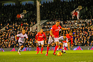 Brighton and Hove Albion during the Sky Bet Championship match at Craven Cottage, London<br /> Picture by Richard Brooks/Focus Images Ltd 07947656233<br /> 02/01/2017