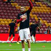Galatasaray's Burak Yilmaz during their Turkish Super League soccer match Galatasaray between Mersin idman Yurdu at the AliSamiYen Spor Kompleksi TT Arena at Seyrantepe in Istanbul Turkey on Saturday, 12 September 2015. Photo by Kurtulus YILMAZ/TURKPIX