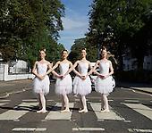 The Australian Ballet Abbey Road Zebra Crossing 15th July 2016