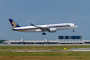 Singapore Airlines, Airbus A350-900 at Milan - Malpensa (MXP / LIMC) Italy
