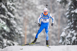 March 9, 2019 - –Stersund, Sweden - 190309 Olli Hiidensalo of Finland competes in the Men's 10 KM sprint during the IBU World Championships Biathlon on March 9, 2019 in Östersund..Photo: Petter Arvidson / BILDBYRÃ…N / kod PA / 92252 (Credit Image: © Petter Arvidson/Bildbyran via ZUMA Press)