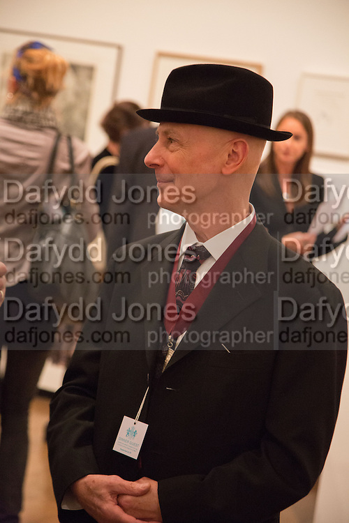 DAVID REMFRY, Gala Opening of RA Now. Royal Academy of Arts,  8 October 2012.