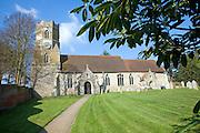 All Saints church, Easton, Suffolk
