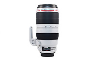 The Canon EF 100-400mm f/4.5-5.6L IS II USM zoom lens.