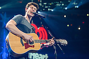 SHAWN MENDES performs at the Hot 99.5 Jingle Ball at the Verizon Center in Washington, D.C.