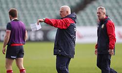 British & Irish Lions head coach Warren Gatland during the training session at the QBE Stadium, Auckland.