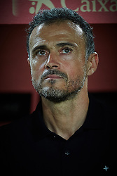 September 11, 2018 - Elche, Alicante, Spain - Luis Enrique coach during the UEFA Nations League football match between Spain and Croatia at Martinez Valero Stadium in Elche on September 11, 2018  (Credit Image: © Sergio Lopez/NurPhoto/ZUMA Press)