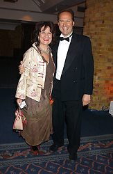BARONESS HELENA KENNEDY and her husband DR IAIN HUTCHISON at the 2005 Whitbread Book Awards 2005 held at The Brewery, Chiswell Street, London EC1 on 24th January 2006. The winner of the 2005 Book of the Year was Hilary Spurling for her biography 'Matisse the Master'.<br /><br />NON EXCLUSIVE - WORLD RIGHTS