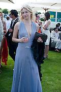 CHLOE CUNNINGHAM, Cartier International Polo. Smiths Lawn. Windsor. 24 July 2011. <br /> <br />  , -DO NOT ARCHIVE-© Copyright Photograph by Dafydd Jones. 248 Clapham Rd. London SW9 0PZ. Tel 0207 820 0771. www.dafjones.com.