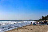Jiquilillo beach  n Nicaragua