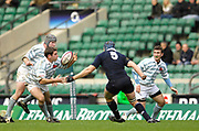 Twickenham. GREAT BRITAIN, David TIBBOTT fumbles the ball, during the 2006 Varsity Rugby Match at Twickenham Stadium, England 12.12.2006. [Photo, Peter Spurrier/Intersport-images] Sponsor, Lehman Brothers,