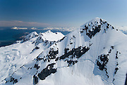 Alaska. Prince William Sound and the Chugach Mountains aerials.