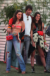 EXCLUSIVE: Alessandra Ambrosio shows off her fit figure as she celebrates her 38th birthday at Coachella. Alessandra, Joined by friends and her boyfriend Nicolo Oddi were seen enjoying themselves in the VIP area of the Coachella music festival. Alessandra bared quite a bit of skin in her outfit as she was seen only wearing a bikini top under a cover up. 12 Apr 2019 Pictured: Alessandra Ambrosio. Photo credit: Marksman/ Snorlax / MEGA TheMegaAgency.com +1 888 505 6342