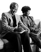 Nelson and Winnie Mandela - London 1997