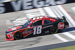 September 14, 2018 - Las Vegas, Nevada, United States of America - Ryan Preece (18) brings his race car down the front stretch during practice for the DC Solar 300 at Las Vegas Motor Speedway in Las Vegas, Nevada. (Credit Image: © Chris Owens Asp Inc/ASP via ZUMA Wire)