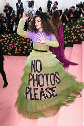 """Hailee Steinfeld at the 2019 Costume Institute Benefit Gala celebrating the opening of """"Camp: Notes on Fashion"""".<br />(The Metropolitan Museum of Art, NYC)"""