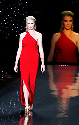 Ireland Baldwin walks the The Red Dress Collection Runway during the MBFW Fall/Winter 2014 shows in Lincoln Center New York City, New York on February 6, 2014. Photo by Donna Ward/ABACAPRESS.COM    432782_001 New York City Etats-Unis United States