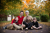 Fall Family Pictures: Bucks County Family Photo Session