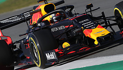 Red Bull's Max Verstappen during day one of pre-season testing at the Circuit de Barcelona-Catalunya.