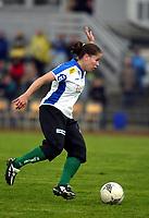 Fotball, Toppserien, Klepp Stadion, 17/04-04, <br />Klepp - Fløya (3-0), <br />Kristina Kiss ( Fløya),<br />Foto: Sigbjørn Andreas Hofsmo, Digitalsport