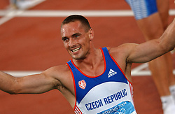 Olympic champion Roman Sebrle CZE in action during Olympics Games Athletics day 12 on August 24, 2004 in Olympic Stadion Spyridon Louis, Athens.