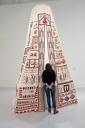 Sperveri by Mounira Al Solh at Mathaf: Arab Museum of Modern Art, Doha , Qatar.