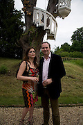 VANESSA NEUMANN AND WILLIAM CASH, The Artists' Playground. Reconstruction 3: Contemporary Art at Sudeley Castle, 2008 In partnership with Phillips de Pury & Company and supported by Chanel. 31 May 2008. *** Local Caption *** -DO NOT ARCHIVE-© Copyright Photograph by Dafydd Jones. 248 Clapham Rd. London SW9 0PZ. Tel 0207 820 0771. www.dafjones.com.