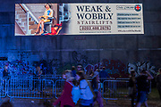 Block P, subversive and alternative - The 2017 Glastonbury Festival, Worthy Farm. Glastonbury, 25 June 2017