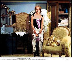 July 31, 2017 - France - Prod DB © Athos - Franco London - Rialto / DR.LE PLUS VIEUX METIER DU MONDE film a sketches de Jean-Luc Godard (Anticipation), Philippe de Broca (Mademoiselle Mimi), Claude Autant-Lara (Aujourd'hui) Franco Indovina (L'Ere préhistorique), Mauro Bolognini (Nuits Romaines) et Michael Pfleghar (La Belle Epoque) 1966 FRA./ALL./ITA..sketch ''MADEMOISELLE MIMI'' de Philippe de Broca avec Jeanne Moreau.lingerie, sexy.premier titre: L'AMOUR À TRAVERS LES AGES (Credit Image: © Visual via ZUMA Press)