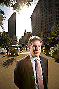 Niko Canner, Managing Partner at Katzenbach Partners.  Photographed in 2008 at KP offices in New York City, for Fortune Magazine.