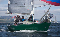 Clyde Cruising Club's Scottish Series 2019<br /> 24th-27th May, Tarbert, Loch Fyne, Scotland<br /> <br /> Day 1, GBR6305C, Lady Ex, Fairlie Yacht Club, Extrovert 22<br /> <br /> Credit: Marc Turner / CCC