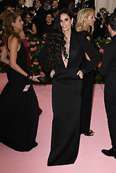 Demi Moore attends The 2019 Met Gala Celebrating Camp: Notes on Fashion at Metropolitan Museum of Art on May 06, 2019 in New York City.<br /> Photo by ABACAPRESS.COM