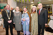 Galway launches 200 Gatherings ! Come home to Irelands Cultural Heart  with help of  Memory Lane Gathering Galway County Mayor Tom Welby Galway County Manager Martina Maloney Michael Loftus Máire Greaney Daly Cllr Peter Feeney  at Aras An Contae. Picture Andrew Downes..