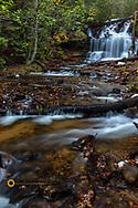 Wagner Falls in autumn  near Munising, Michigan, USA