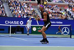 September 8, 2019, New York, USA: Rafael Nadal  vs Daniil Medvedev (Credit Image: © Panoramic via ZUMA Press)