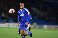 David McGoldrick of Ipswich Town. Skybet football league championship match, Cardiff city v Ipswich Town at the Cardiff city stadium in Cardiff, South Wales on Tuesday 21st October 2014<br /> pic by Andrew Orchard, Andrew Orchard sports photography.