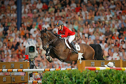 Michaels Beerbaum Meredith (GER) - Checkmate 4<br /> Mercedes-Benz Preis part of the Meydan FEI Nations Cup<br /> CHIO Aachen 2009<br /> Photo © Dirk Caremans