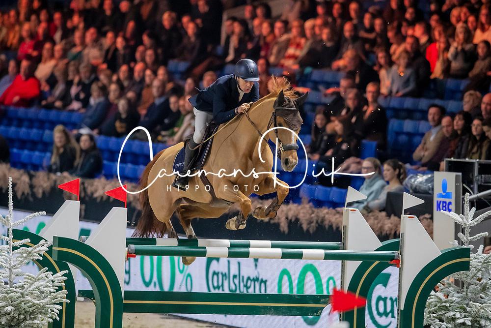 Vermeir Wilm, BEL, Gentiane de la Pomme<br /> Jumping Mechelen 2019<br /> © Hippo Foto - Dirk Caremans<br />  26/12/2019