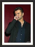 George Michael atlantic Bar London 05/05/2004 A3 Museum-quality Archival signed Framed Print £800