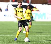 Fotball ,  OBOS-Ligaen<br /> 07.04.19<br /> Nammo Stadion<br /> Raufoss v Sandefjord  0-2<br /> Foto :  Dagfinn Limoseth , Digitalsport<br /> Marius Svanberg Alm , Raufoss