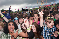 Freindly Fire on the main stage..Rockness, Friday 11th June..Pic ©2010 Michael Schofield. All Rights Reserved.