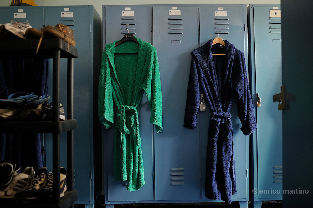 Società Canottieri Armida rowing club, dressing room.
