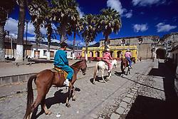 People Renting Horses