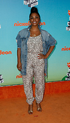 March 23, 2019 - Los Angeles, CA, USA - LOS ANGELES, CA - MARCH 23: Nia Long attends Nickelodeon's 2019 Kids' Choice Awards at Galen Center on March 23, 2019 in Los Angeles, California. Photo: CraSH for imageSPACE (Credit Image: © Imagespace via ZUMA Wire)