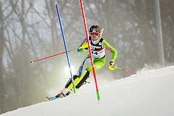 "Ana Bucik (SLO) during FIS Alpine Ski World Cup 2016/17 Ladies Slalom race named ""Snow Queen Trophy 2017"", on January 3, 2017 in Course Crveni Spust at Sljeme hill, Zagreb, Croatia. Photo by Žiga Zupan / Sportida"
