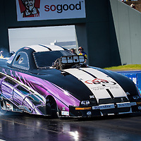 Anthony Begley (2708) - Ford Mustang Top Alcohol Funny Car, running in Top Competition.