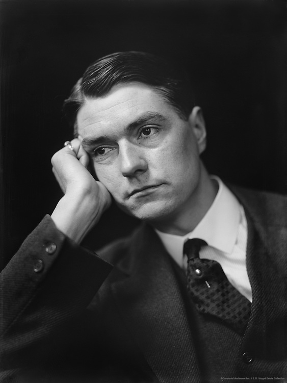 John Drinkwater, English Poet and Playwright, 1918