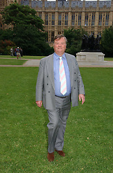 KEN CLARKE MP at the annual Macmillan Cancer Support House of Lords vs the House of Commons Tug of War held in Victoria Tower Gardens on 20th June 2006.<br /><br />NON EXCLUSIVE - WORLD RIGHTS